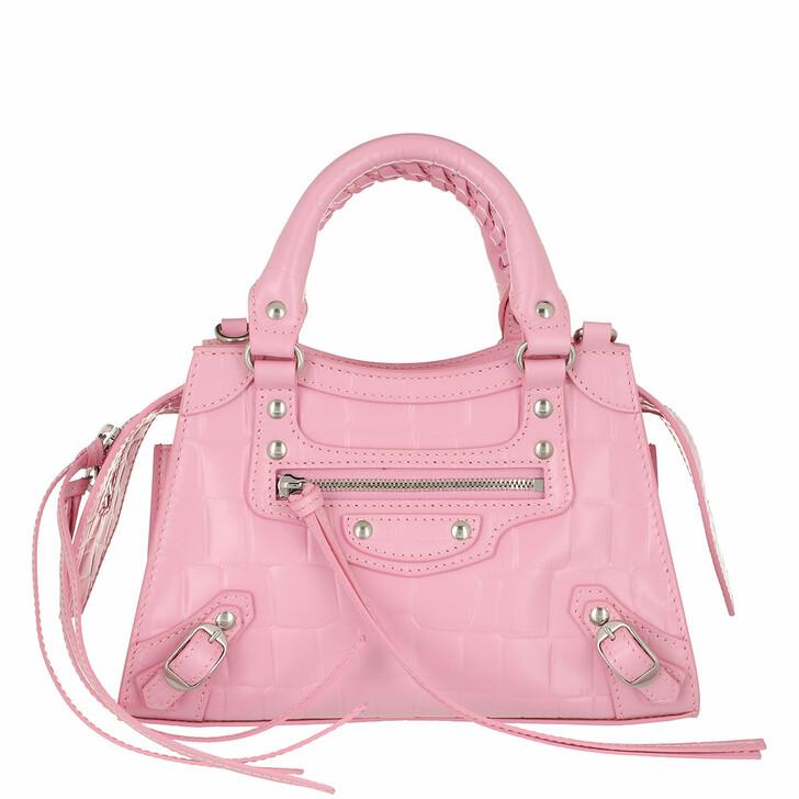 Handtasche, Balenciaga, Neo Classic Mini Top Handle Bag Leather Pink