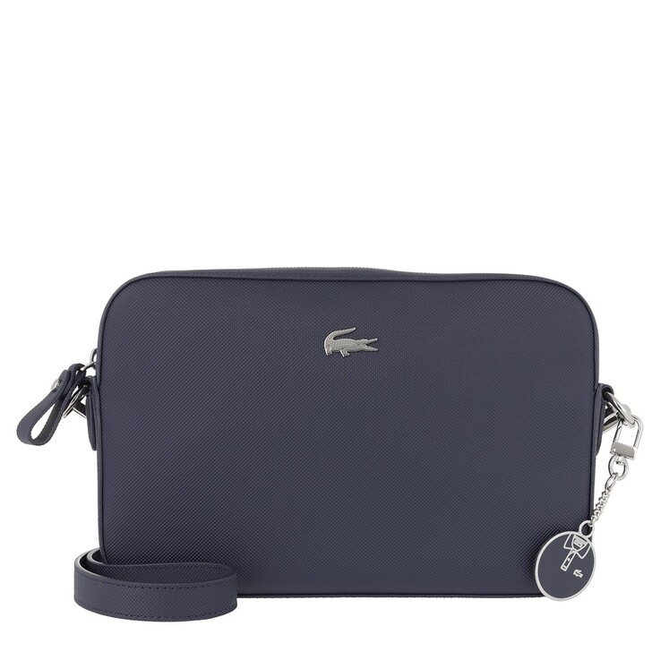 Handtasche, Lacoste, Square Crossover Bag Peacoat