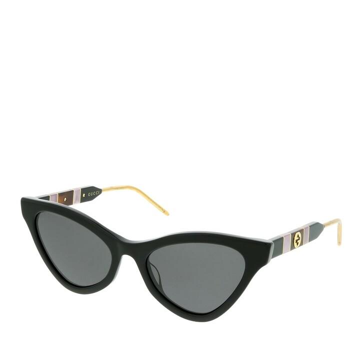 Sonnenbrille, Gucci, GG0597S 55  Black/Grey