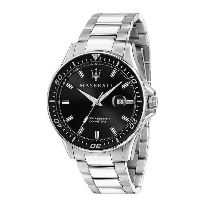 Uhr, Maserati, Watch Sfida 44mm Silver