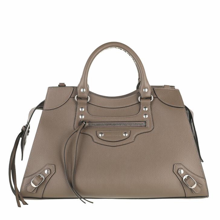 bags, Balenciaga, Neo Classic City Tote Bag Mink Grey