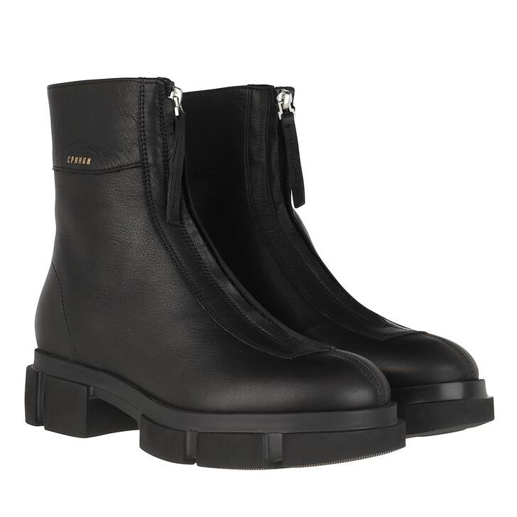 shoes, Copenhagen, CPH525 Boots Nabuc Black