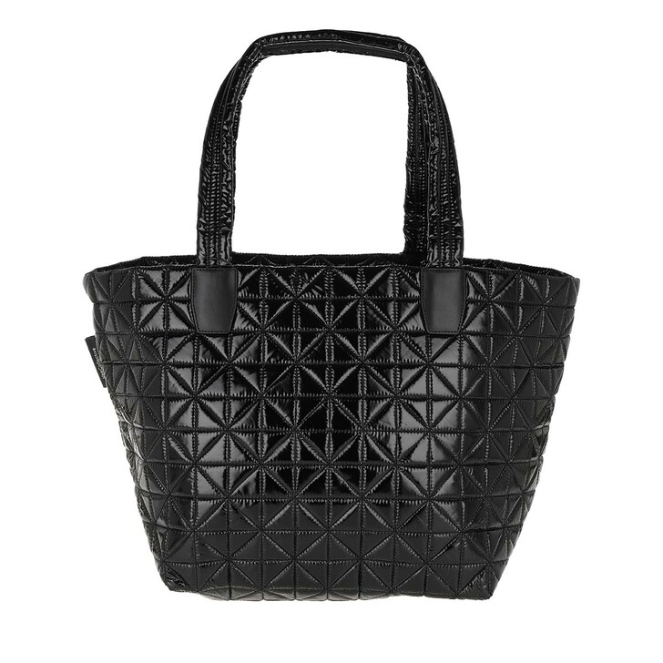 Handtasche, VeeCollective, Medium Vee Tote Vinyl Black