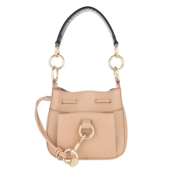 Handtasche, See By Chloé, Tony Small Shoulder Bag Soft Tan