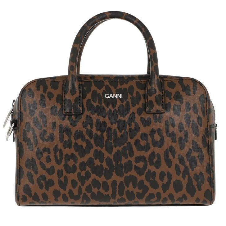 Handtasche, GANNI, Top Handle Bag Toffee