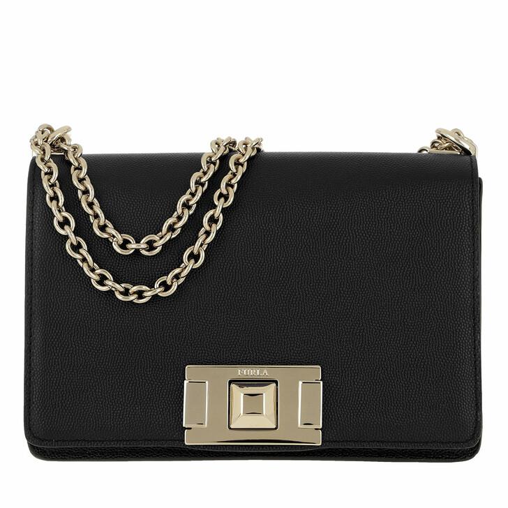 Handtasche, Furla, Mimi' Mini Crossbody Bag Onyx