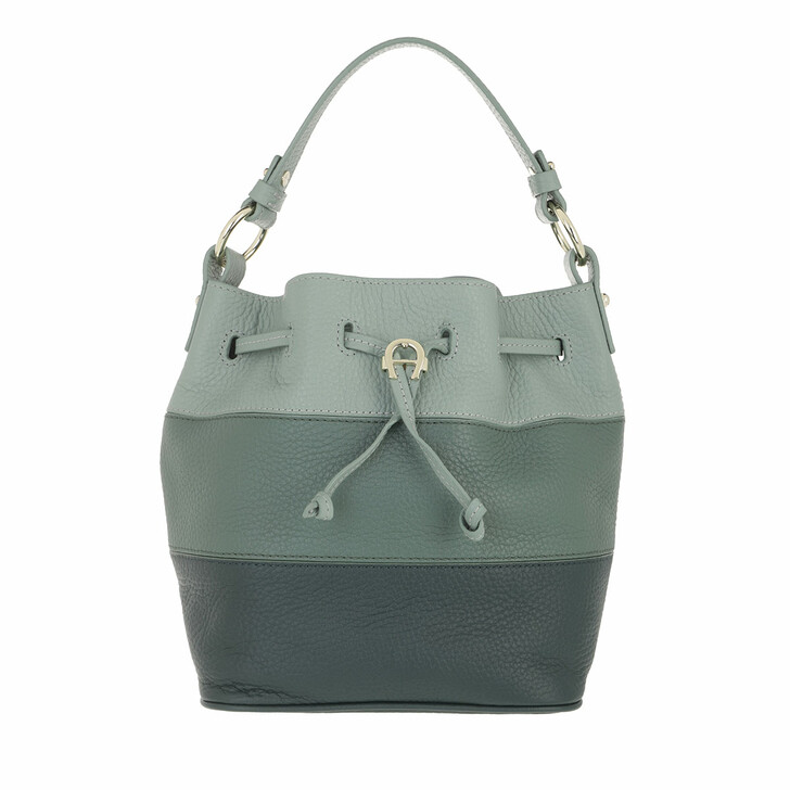 bags, AIGNER, Tara Crossbody Bag Deep Green