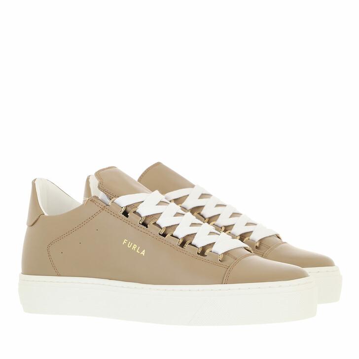 shoes, Furla, Hikaia Low Lace-Up Sneaker T. 20 - Vitello Soft Juta