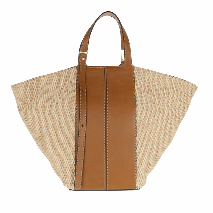 Handtasche, Gianni Chiarini, Two Handle Shopping Bag Leather Corda Cuoio