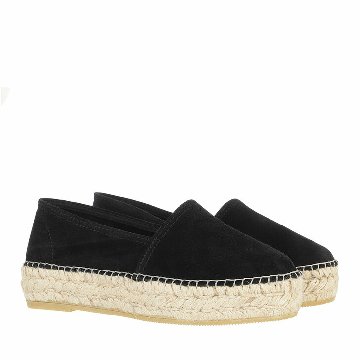 Schuh, Espadrij l'originale, CLASSIC VELOUR HIGH noir