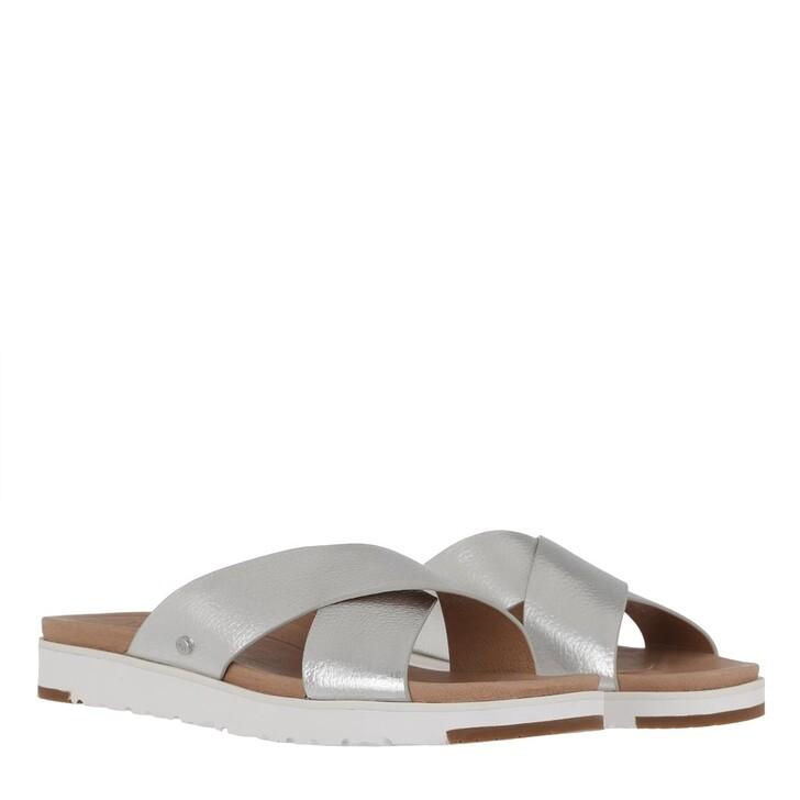 Schuh, UGG, Kari Metallic Sandal Silver