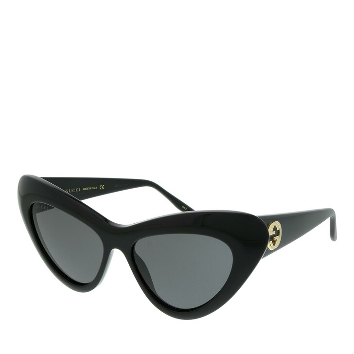 Sonnenbrille, Gucci, GG0895S-001 54 Sunglass WOMAN ACETATE BLACK