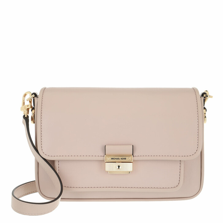 Handtasche, MICHAEL Michael Kors, Bradshaw Messenger Handbag Leather Soft Pink