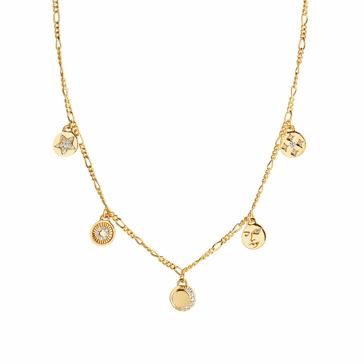 Kette, Sif Jakobs Jewellery, Portofino Necklace Yellow Gold