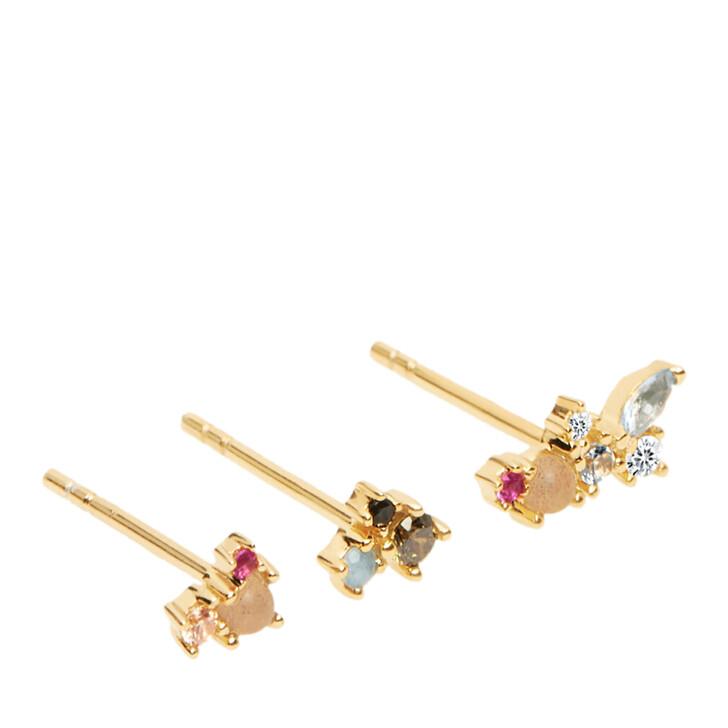 Ohrring, PDPAOLA, La Palette Earring Yellow Gold