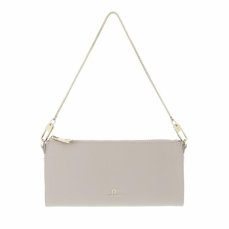 bags, AIGNER, Ivy Mini Bag Clay Grey