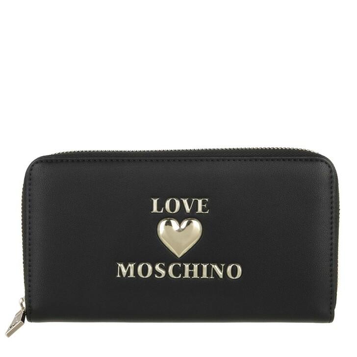 wallets, Love Moschino, Portafogli Pu  Nero