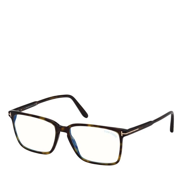 Brillen mit Gläsern, Tom Ford, Blue Blocker FT5696-B Havanna
