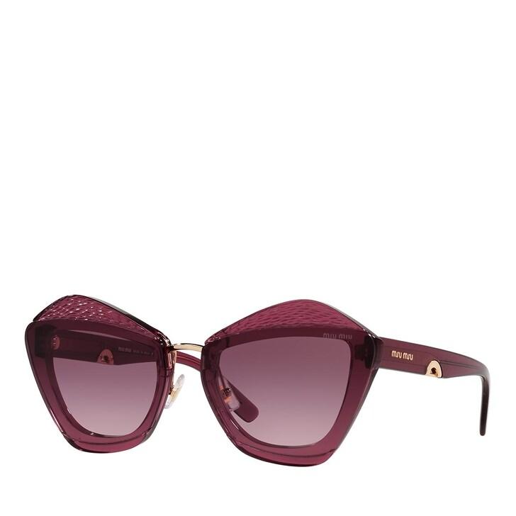 sunglasses, Miu Miu, 0MU 01XS BORDEAUX