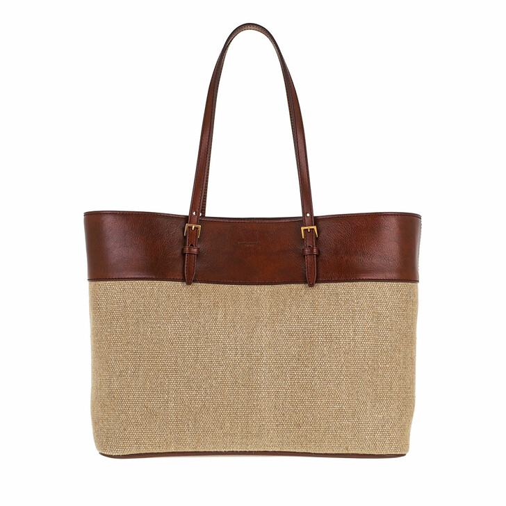 bags, Saint Laurent, Medium Boucle Shopping Bag Naturale