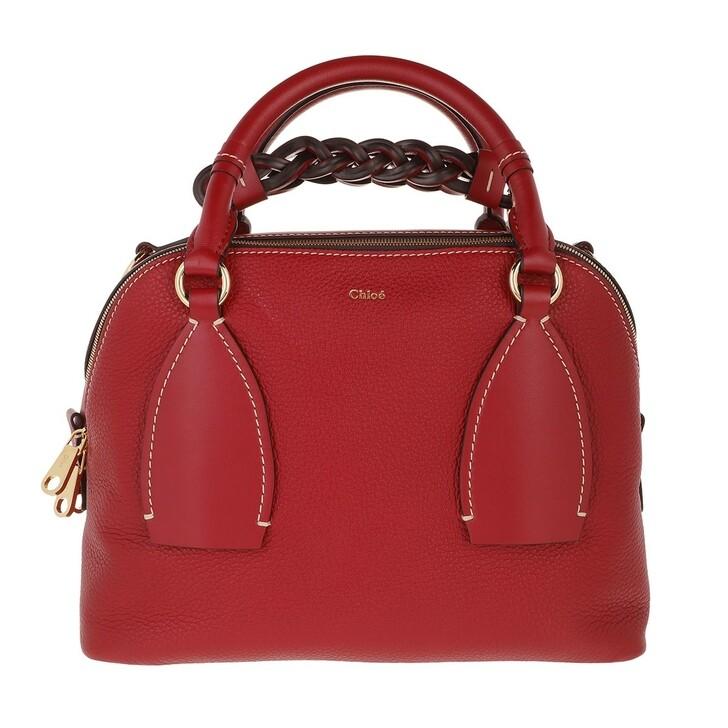Handtasche, Chloé, Crossbody Bag Smoked Red