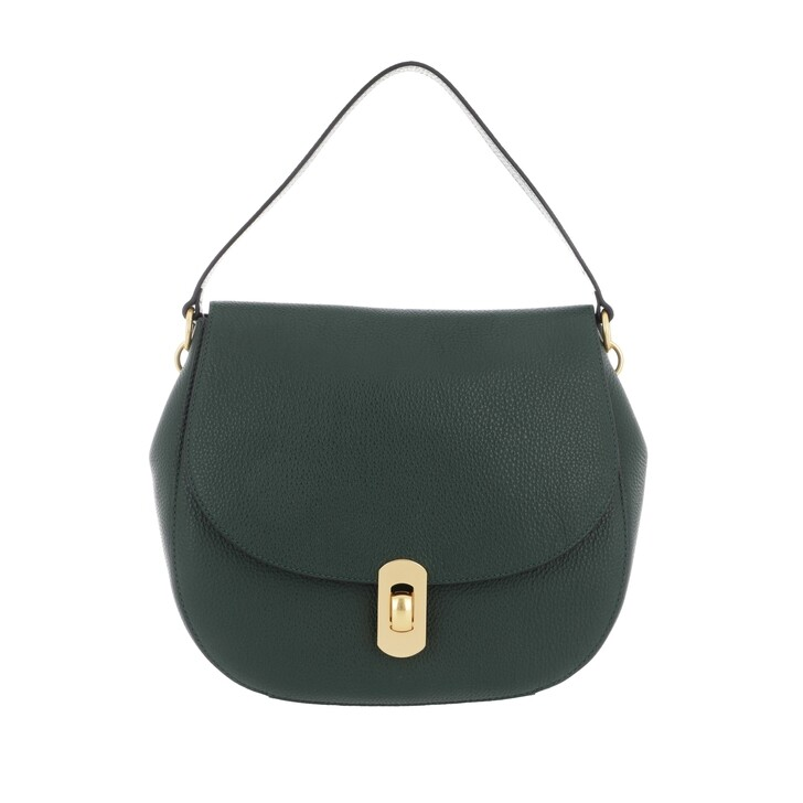 Handtasche, Coccinelle, Zaniah Crossbody Leather  Mallard Green