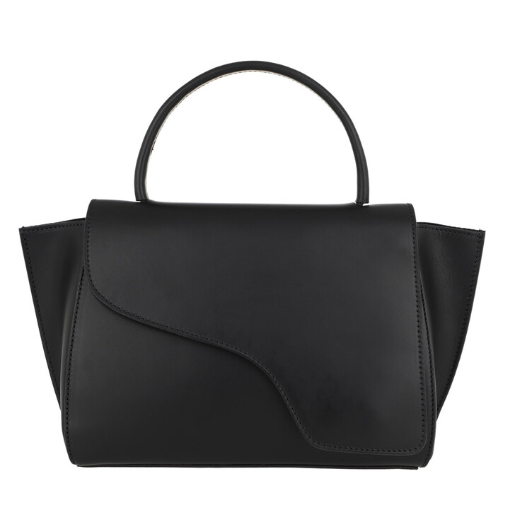 Handtasche, ATP Atelier, Medium Tote Bag Black