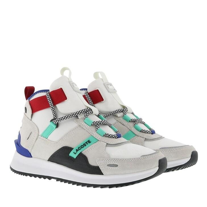 Schuh, Lacoste, Run Breaker Sneaker Shoes Off White