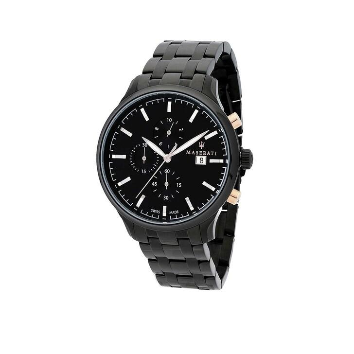 watches, Maserati, ATTRAZIONE 43mm  Black