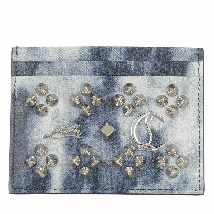 wallets, Christian Louboutin, Card Holder Multi/Silver