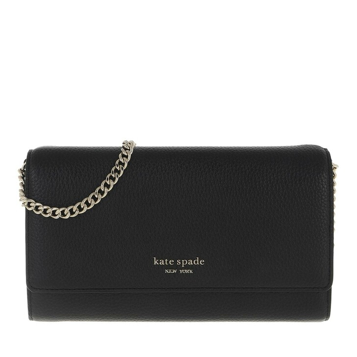 Handtasche, Kate Spade New York, Chain Clutch Black