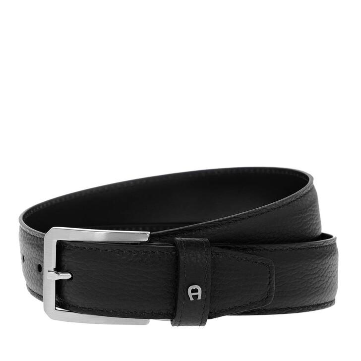 Gürtel, AIGNER, Belt Black