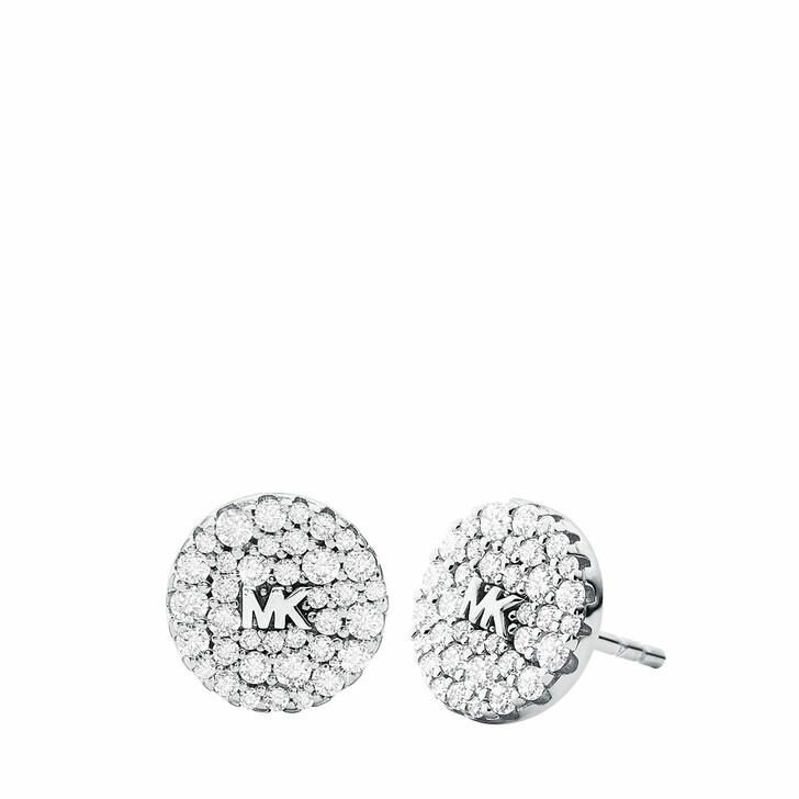 earrings, Michael Kors, Women's Sterling Silver Stud Earring MKC1496AN040 Silver