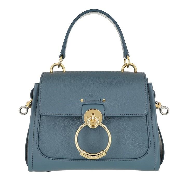 bags, Chloé, Tess Day Mini Crossbody Bag Leather Mirage Blue