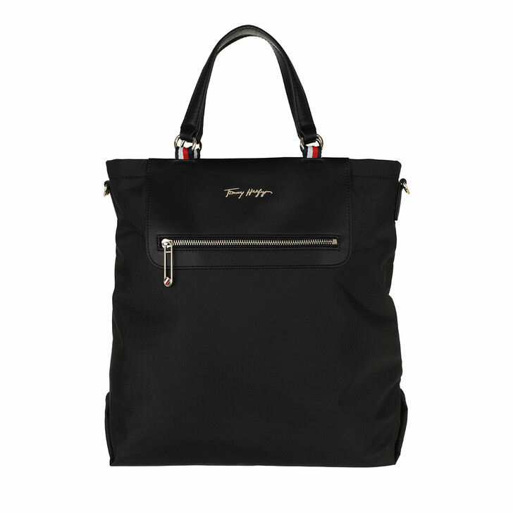 bags, Tommy Hilfiger, Tommy Fresh Tote Black