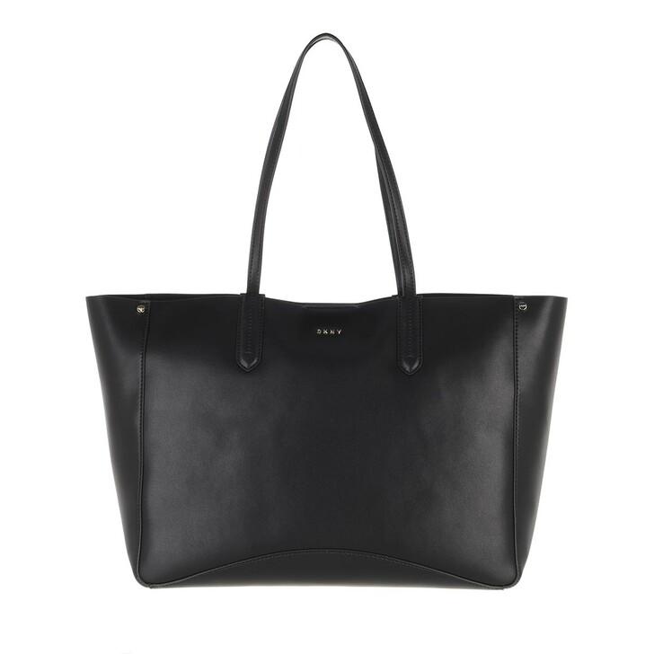 Handtasche, DKNY, Ida Tote Black Gold