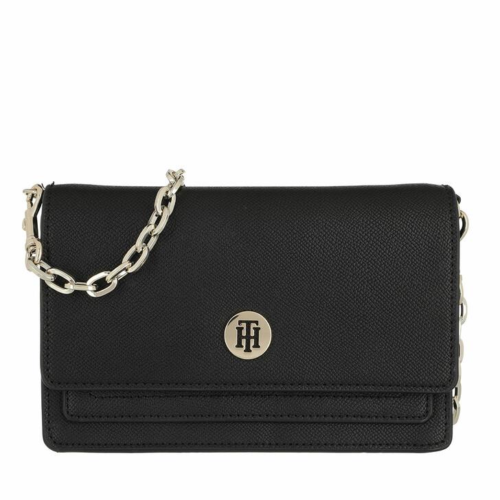 bags, Tommy Hilfiger, Honey Chain Crossbody Bag Black