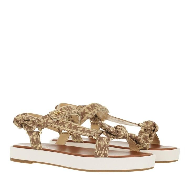 shoes, MICHAEL Michael Kors, Phoebe Sandal Beige/Ebony