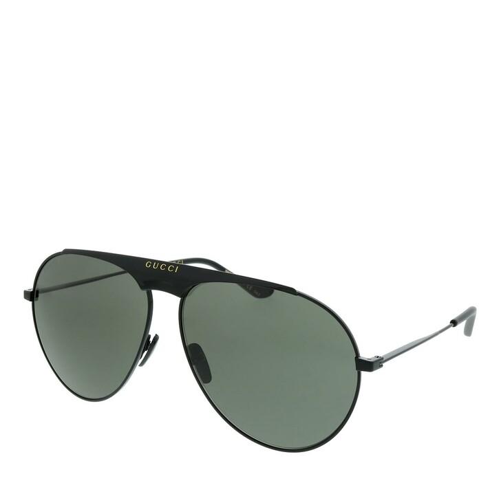 Sonnenbrille, Gucci, GG0908S-004 65 Sunglass MAN METAL BLACK