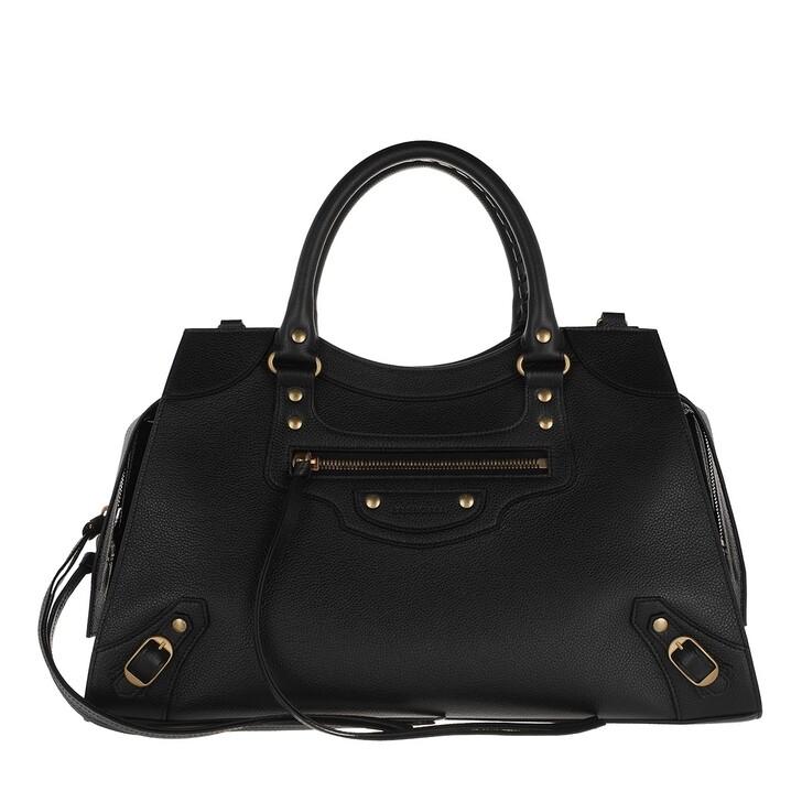 Handtasche, Balenciaga, Medium Neo Classic City Bag Leather Black