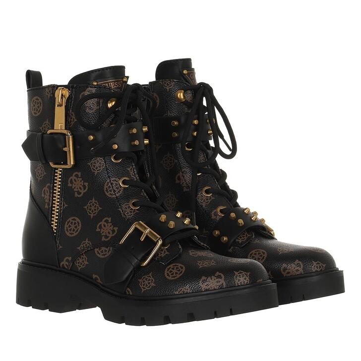 shoes, Guess, Rodeta3 Brown Ocra