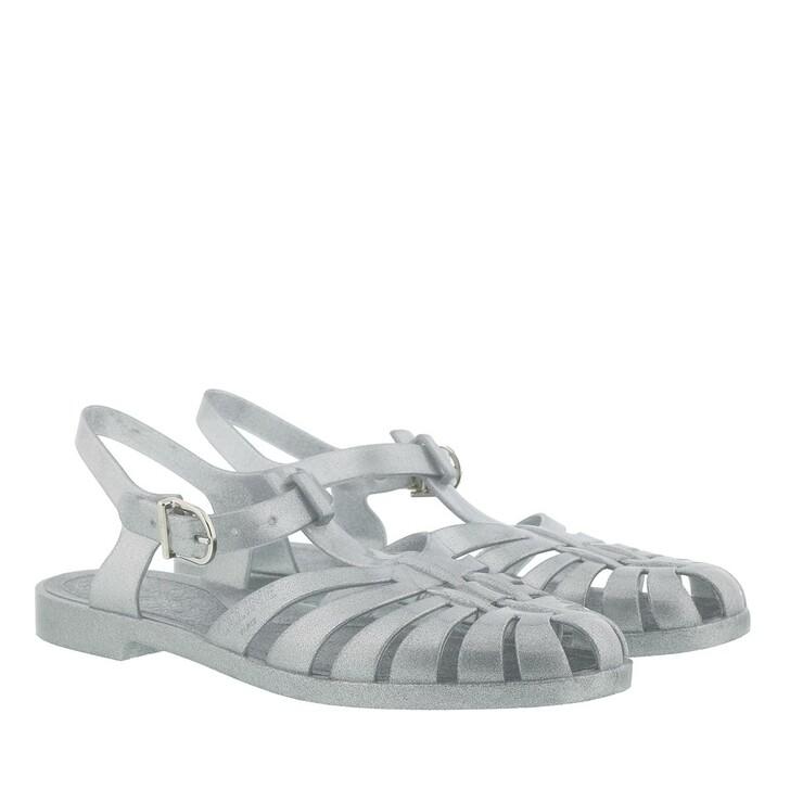 Schuh, Celine, PVC Beach Sandals  Silver