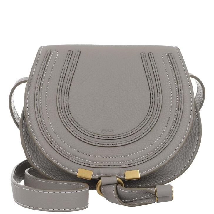 Handtasche, Chloé, Marcie Round Small Bag Cashmere Grey