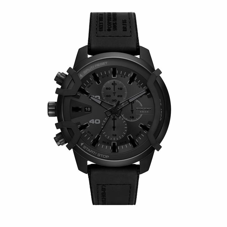 Uhr, Diesel, Griffed Chronograph Canvas Watch Black