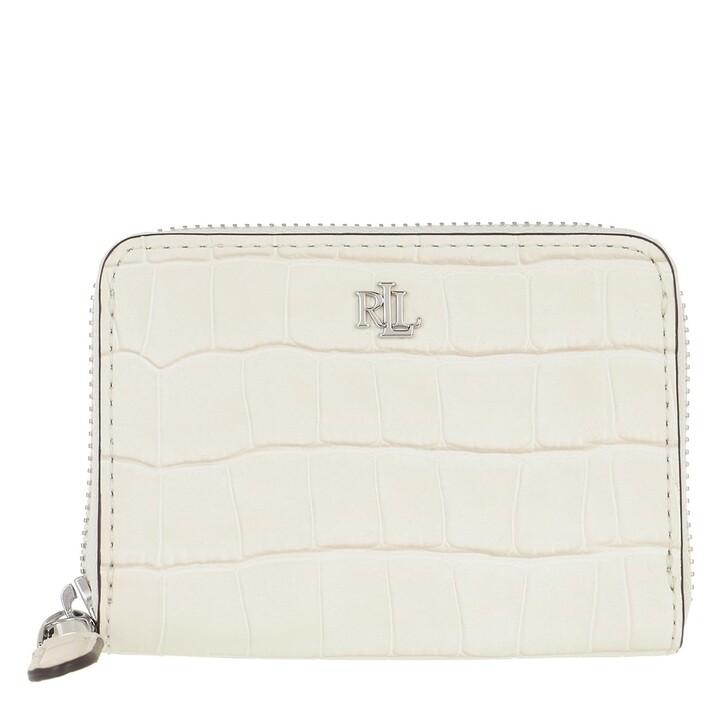wallets, Lauren Ralph Lauren, Sm Zip Wllet Wallet Small Vanilla