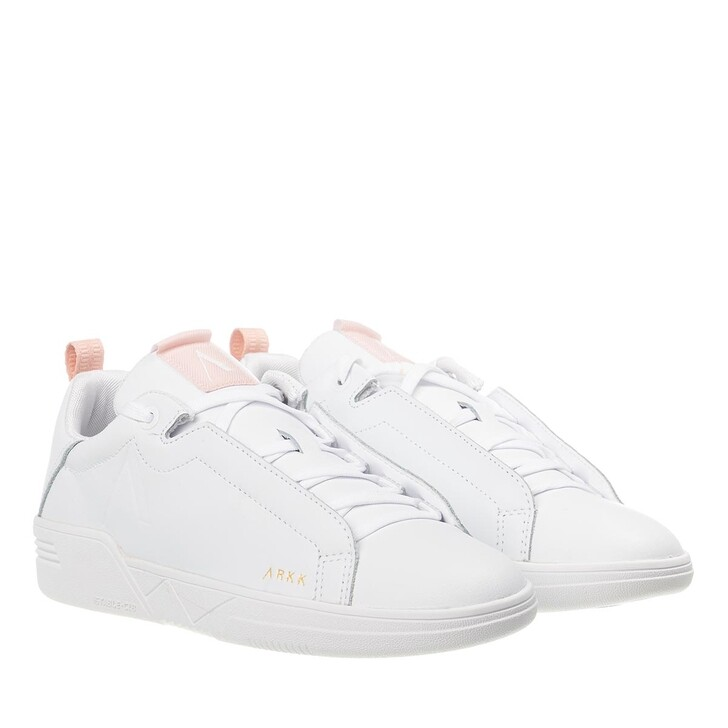 Schuh, ARKK Copenhagen, Uniklass Leather S-C18 Sneakers White Shell Pink