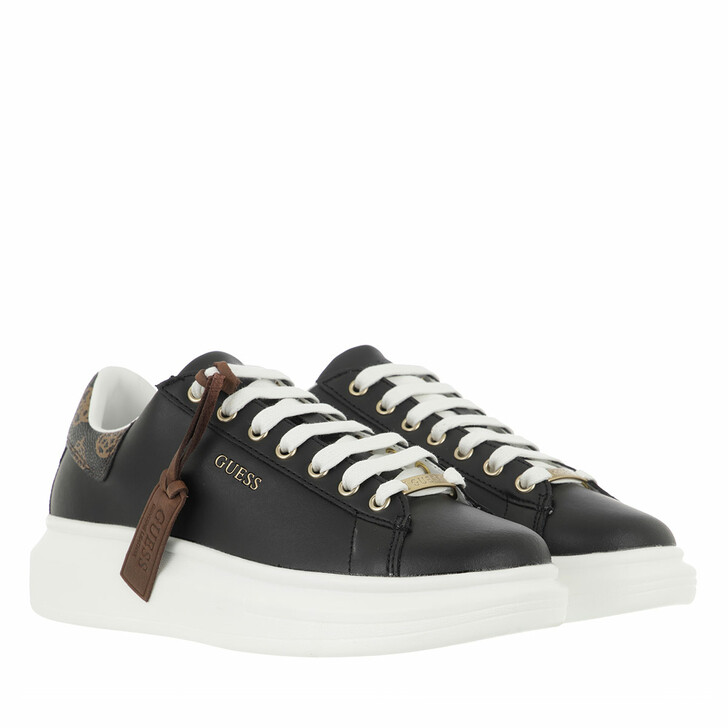 shoes, Guess, Salerno Footwear Active Lady Black Brown