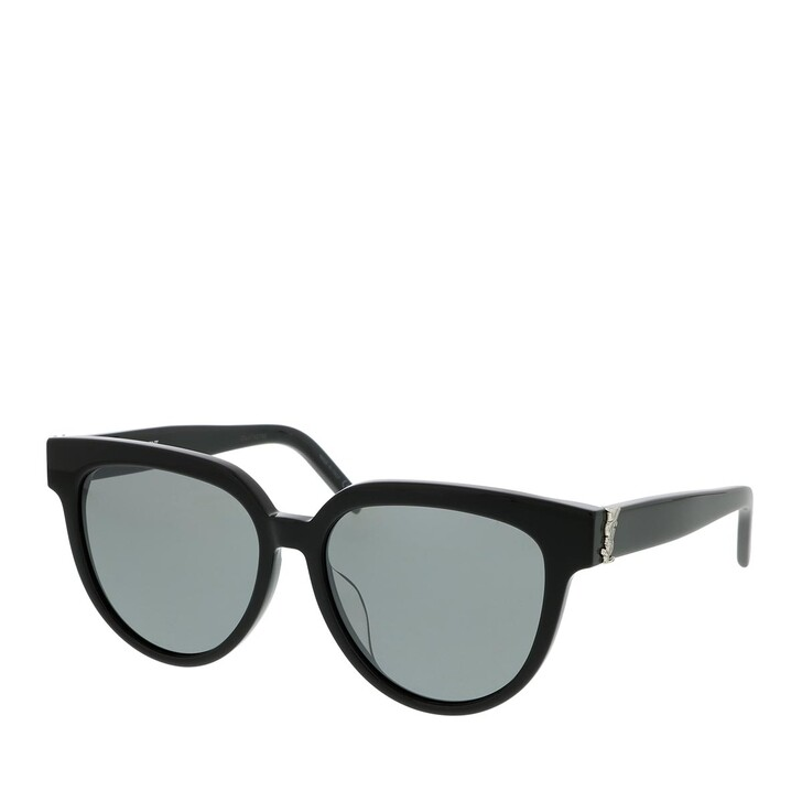 Sonnenbrille, Saint Laurent, SL M28/F-002 55 Sunglass WOMAN ACETATE BLACK