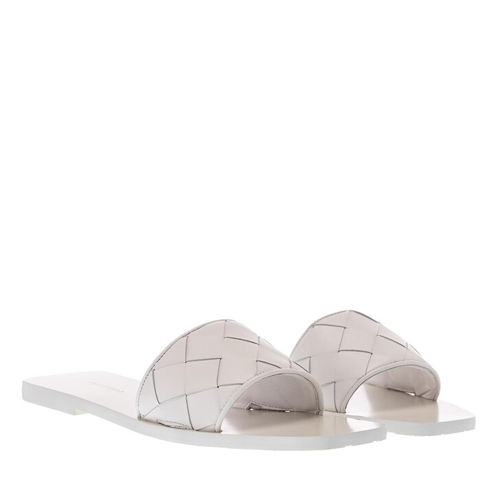 Schuh, What For, Samo Flats Soft Leather White