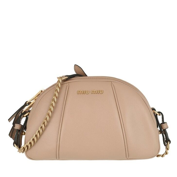 Handtasche, Miu Miu, Crossbody Bag Leather Cammeo